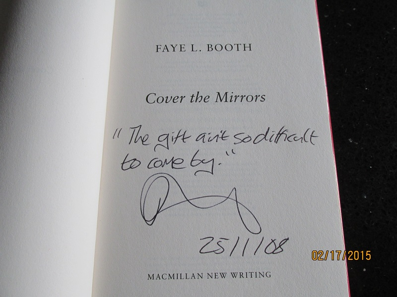 Image for Cover The Mirrors Signed Lined Dated First Edition Hardback in Dustjacket