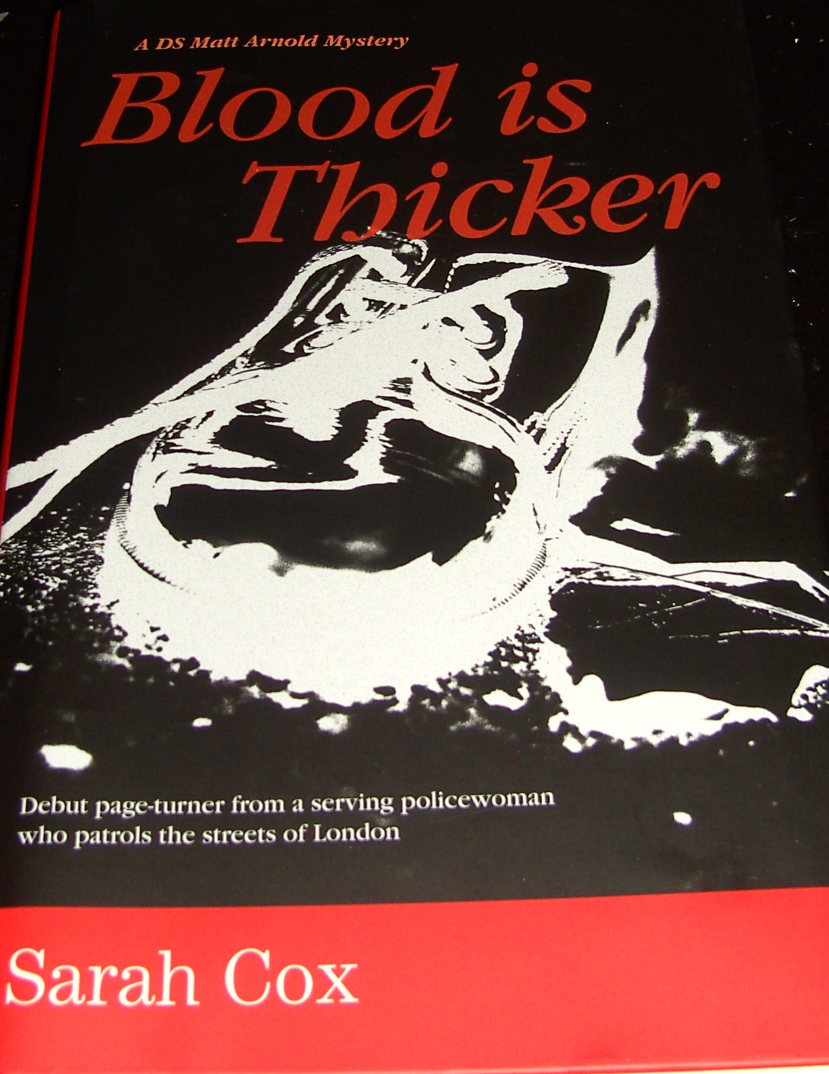 Image for Blood Is Thicker First Edition Hardback in Dustjacket