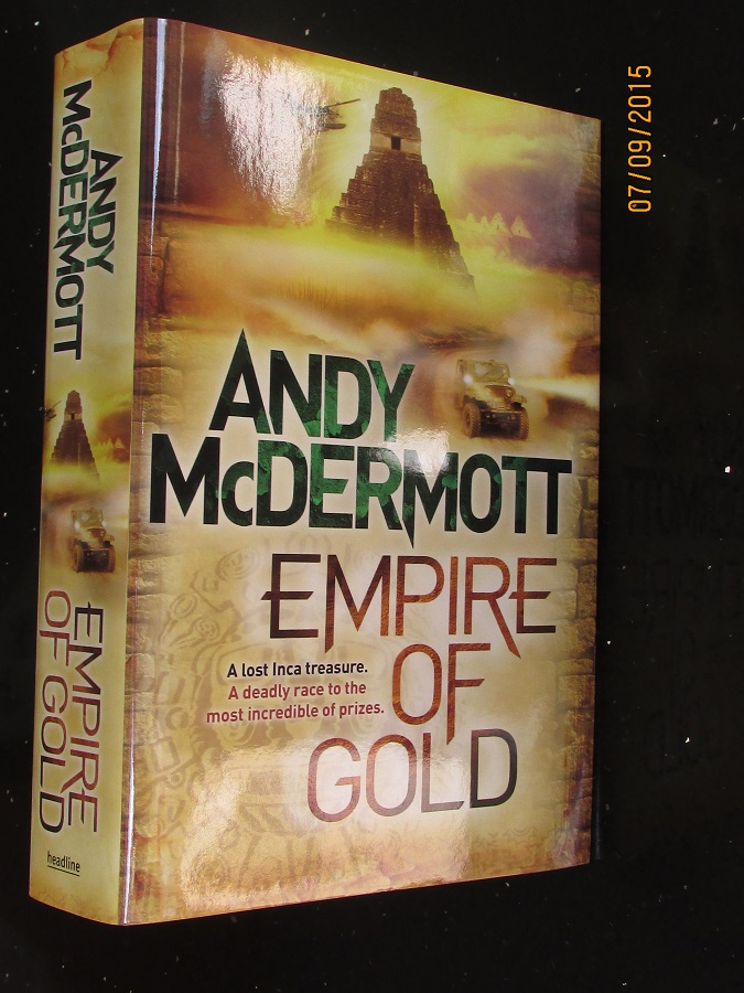 Image for Empire Of Gold Unread Signed First-Lined Dated first Edition Hardback in Dustjacket