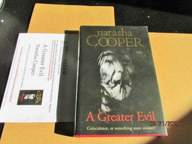 Image for A Greater Evil First Printing with Review Letter