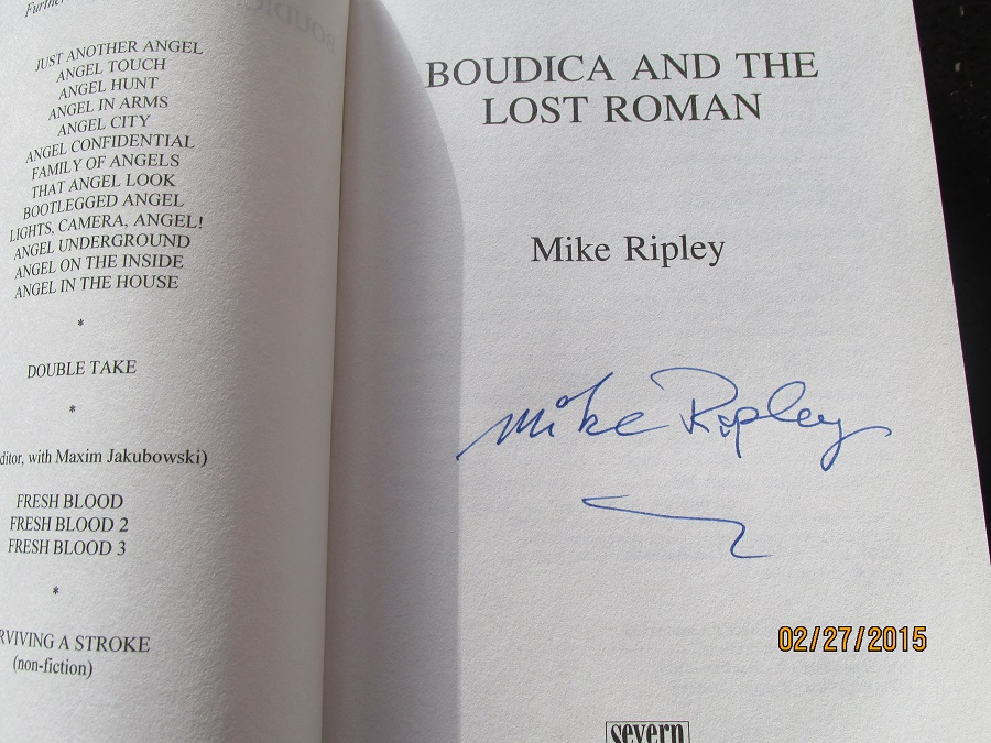 Image for Boudica and the Lost Roman Signed First Printing