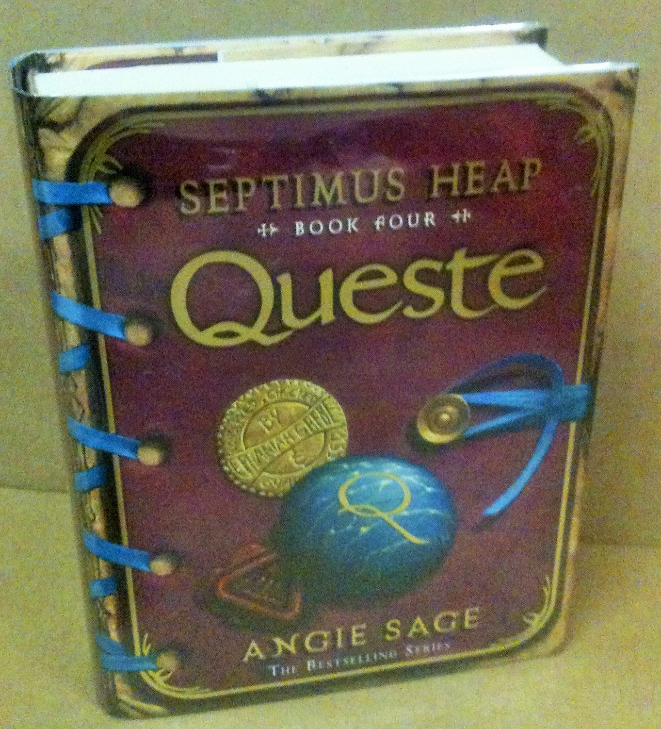 Image for Queste  Septimus Heap Book Four  [ an Unread SIGNED Fine First printing]