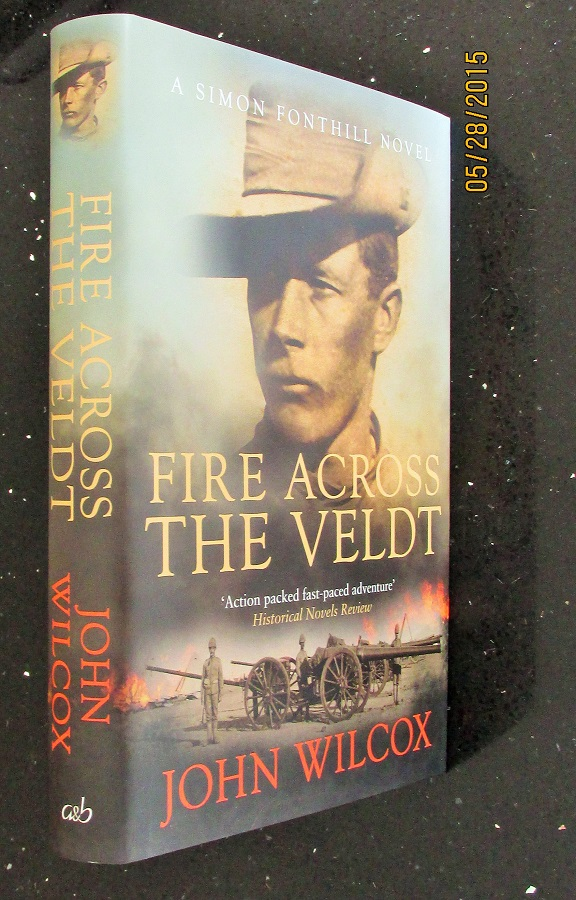 Image for Fire Across The Veldt [an Unread Signed Lined Dated First Printing ]