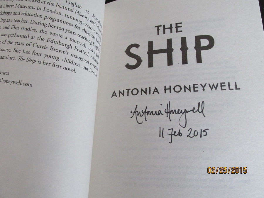 Image for The Ship Unread Fine Signed and Dated  First Printing