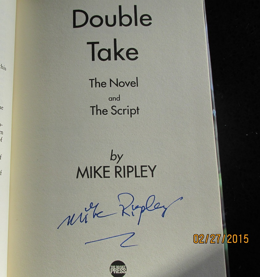 Image for Double Take Signed First Printing