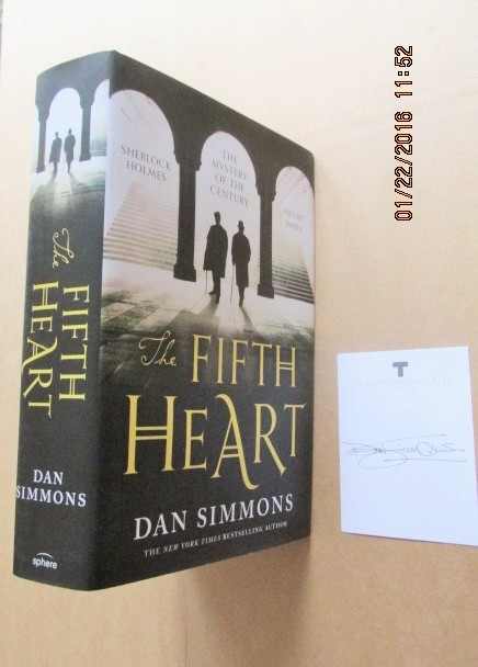 Image for The Fifth Heart [ an Unread Signed on Bookplate Fine First Printing ]