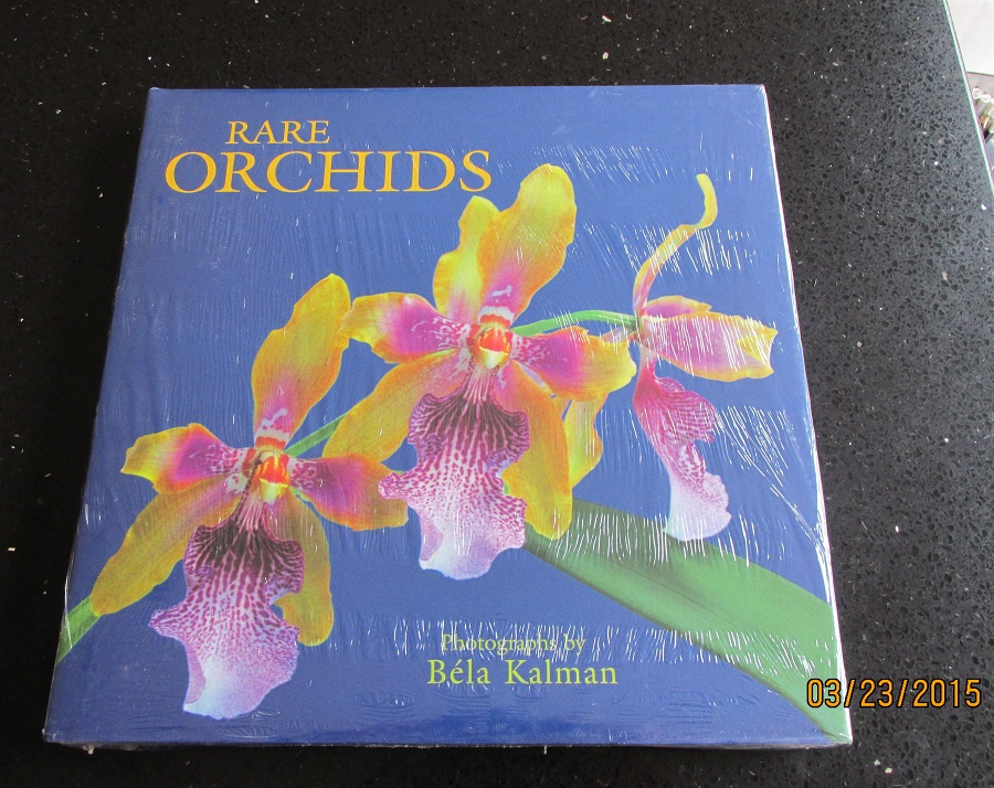 Image for Rare Orchids Unread Still Sealed First Printing