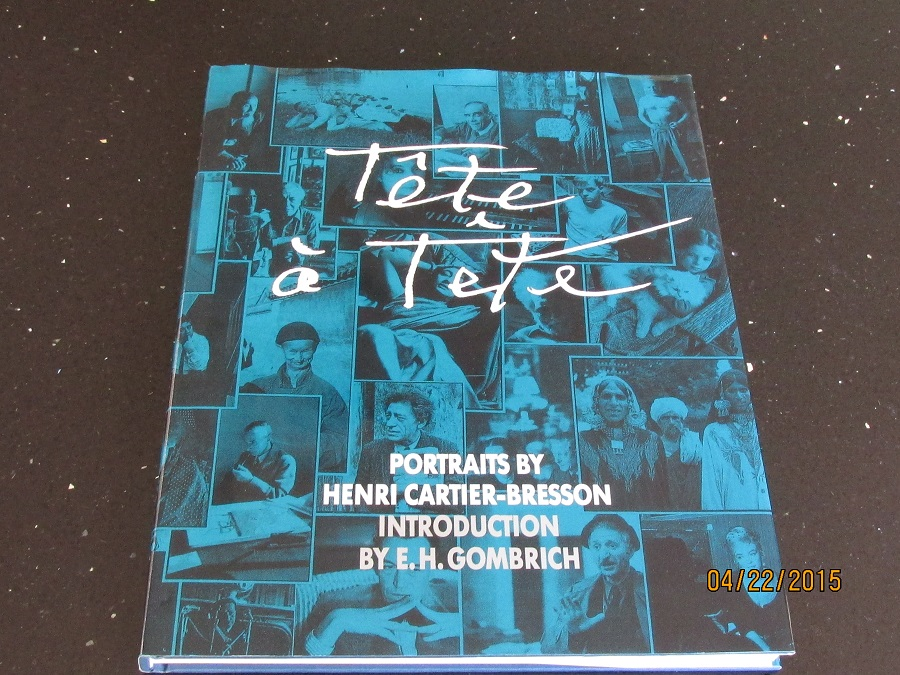 Image for Tete a Tete: Portraits by Henri Cartier-Bresson [ 1st Printing Hardback in Dustjacket ]