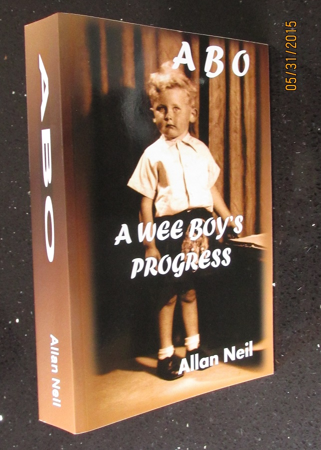Image for A B O A Wee Boy's Progress [ Unread Fine Signed  Paperback ]