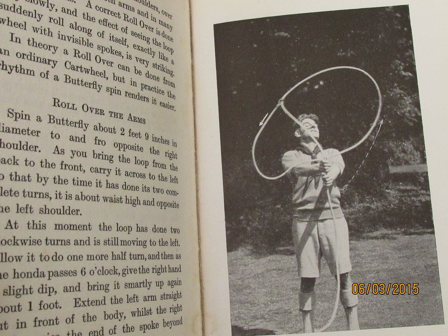 Image for Rope Spinning With a Special Chapter on How to Use the Lariat 1930 First Edition