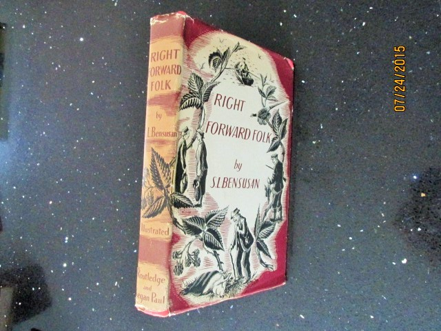 Image for Right Forward Folk Illustrated By Joan Rickarby [ 1949 1st Printing [