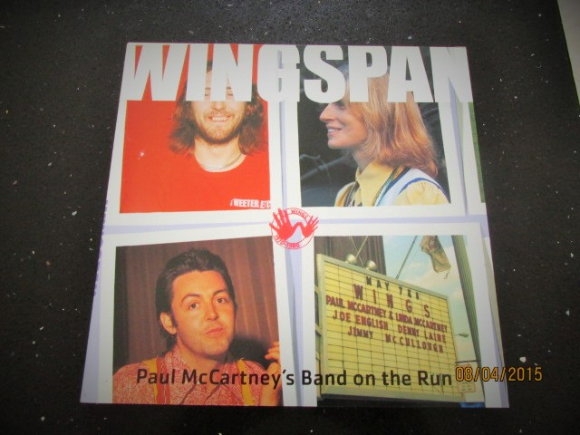Image for Wingspan Paul McCartney's Band on the Run Fine First Printing
