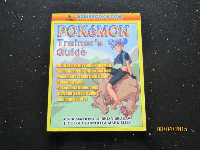 Image for Pokemon Trainer's Guide: Includes Blue, Red and Yellow Versions