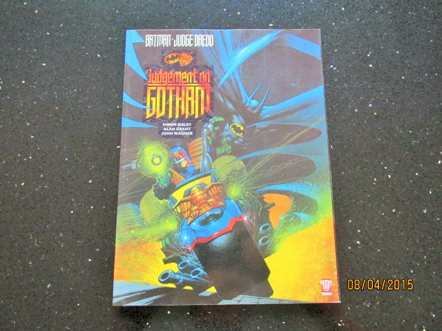 Image for Batman and Judge Dredd: Judgement on Gotham Unread Fine First Printing