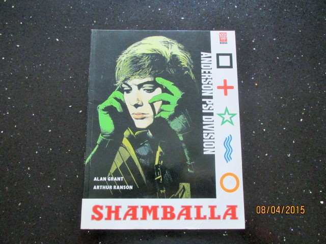 Image for Shamballa 2000 AD Books First Edition