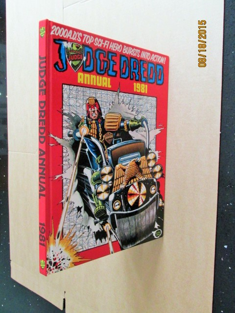 Image for Judge Dredd Annual 1981 2000 A D unread First Printing