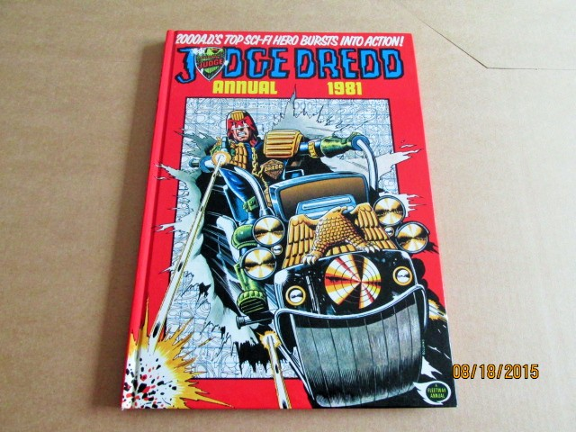 Image for Judge Dredd Annual 1981 2000 A D [ a Mint First Printing ]