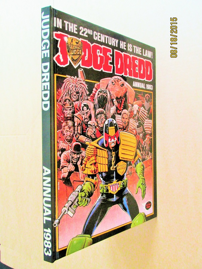 Image for Judge Dredd Annual 1983 2000 A D [ a Mint First Printing ]