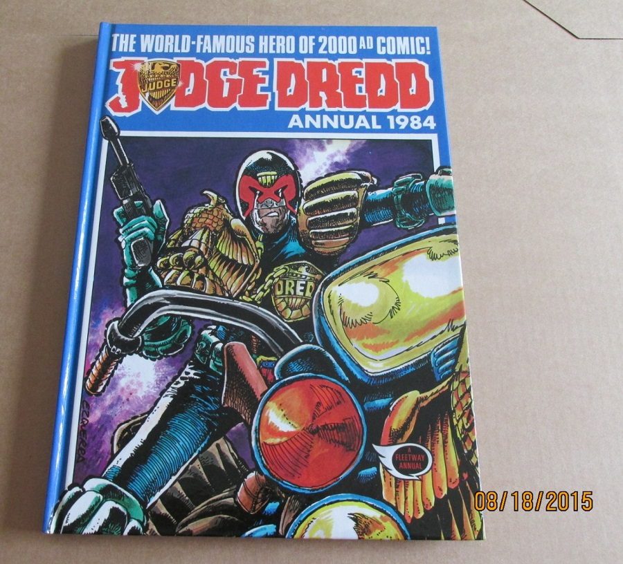 Image for Judge Dredd Annual 1984 2000 A D Unread First Edition