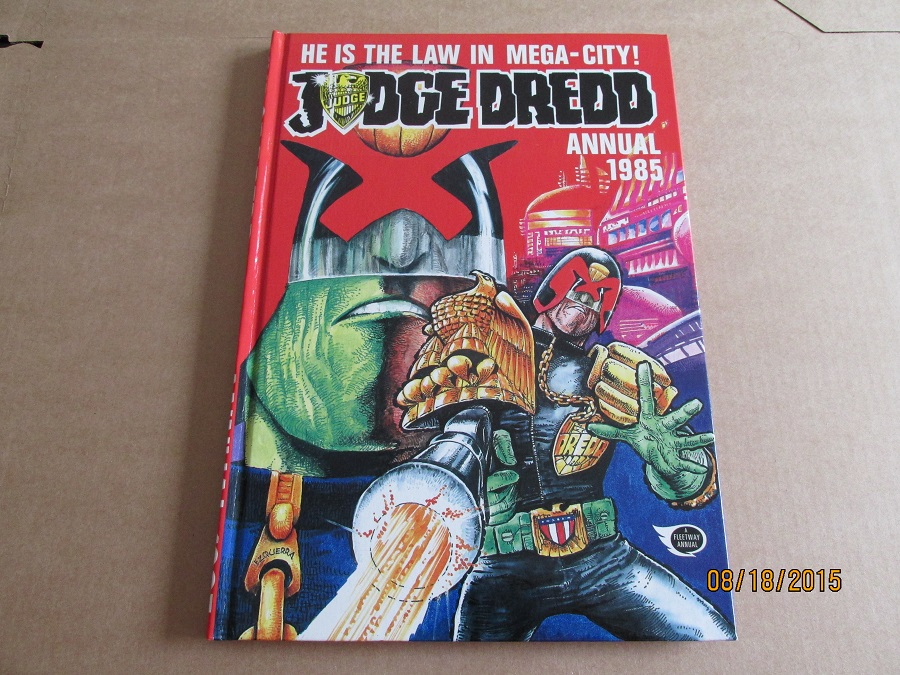 Image for Judge Dredd Annual 1985 2000 A D Unread First Edition