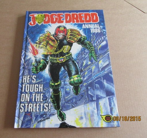 Image for Judge Dredd Annual 1986 2000 A D Unread First Edition