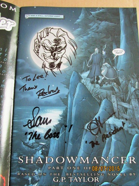 Image for Shadowmancer Issue 1 Expo 2005 Limited Edition Signed Plus Original Drawing By Pedro Delgado
