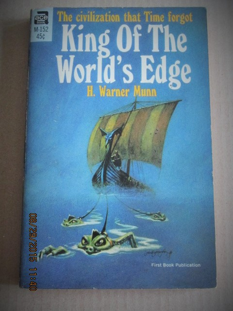 Image for King of the World's Edge ACE Paperback Original