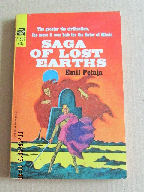 Image for Saga of Lost Earths ACE Paperback Original