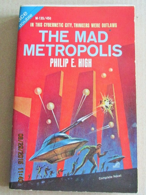 Image for Space Captain / The Mad Metropolis ACE Paperback Original