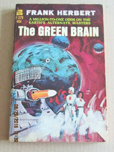 Image for The Green Brain ACE Paperback Original