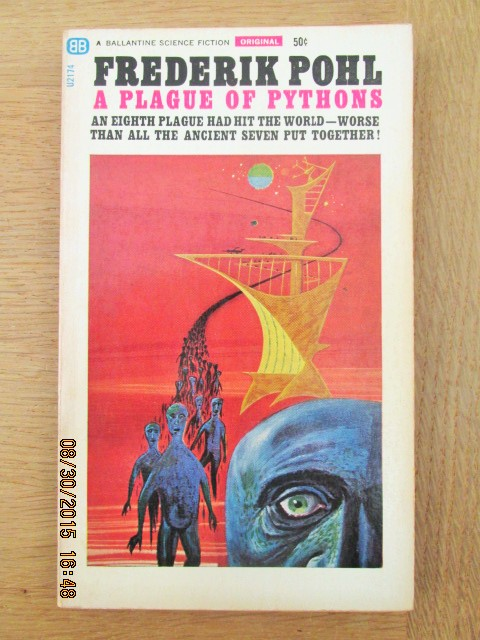 Image for A Plague of Pythons Ballantine Original 1st Printing