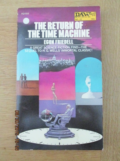 Image for The Return of the Time Machine First Printing
