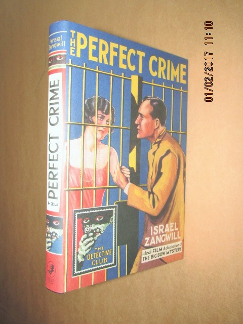 Image for The Perfect Crime Unread Hardback in Dustjacket