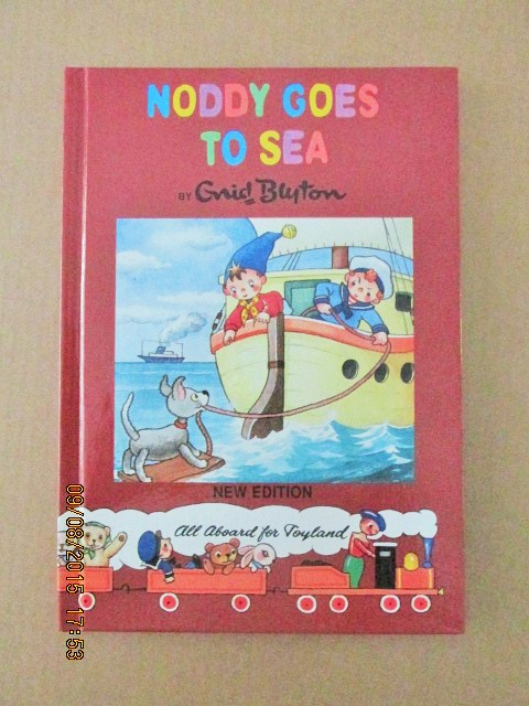 Image for Noddy Goes to Sea Noddy Library New Edition Book 18 ) a Mint Unread Copy