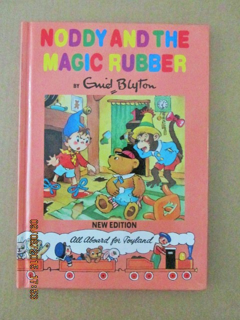 Image for Noddy and the Magic Rubber Noddy Library New Edition Book 9 a Mint Unread Copy