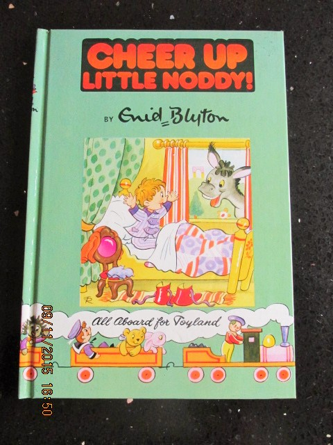 Image for Cheer Up Little Noddy [ a Mint Unread Copy with Original Golliwog design]