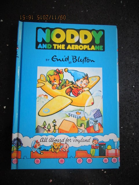 Image for Noddy and the Aeroplane [ a Mint Unread Copy with Original Golliwog design]