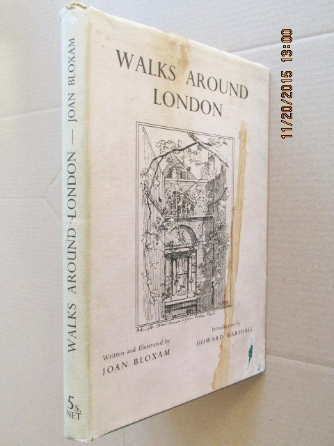 Image for Walks Around London Introduction By Howard Marshall  [ 1937  1st in d w ]