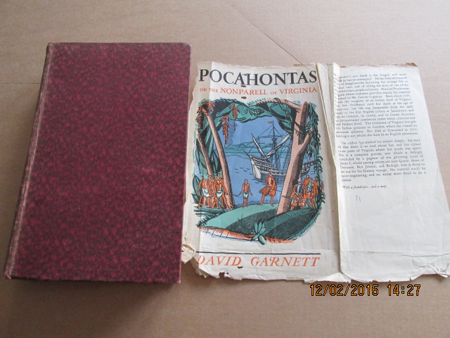 Image for Pocahontas or the Nonparell of Vrginia 1933 First Edition