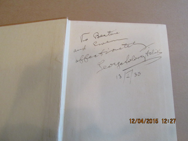 Image for Potemkin a Picture of Catherine's Russia 1938 First Edition Signed Dated By the Author