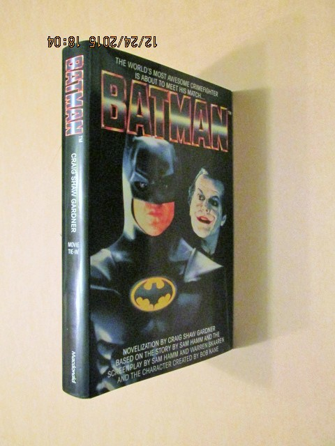 Image for Batman: Novel Movie Tie-In [ an Unread Fine First Printing ]