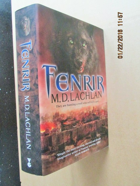 Image for Fenrir Unread Signed Lined Dated First Edition Hardback in Dustjacket Plus Signed Bookmark