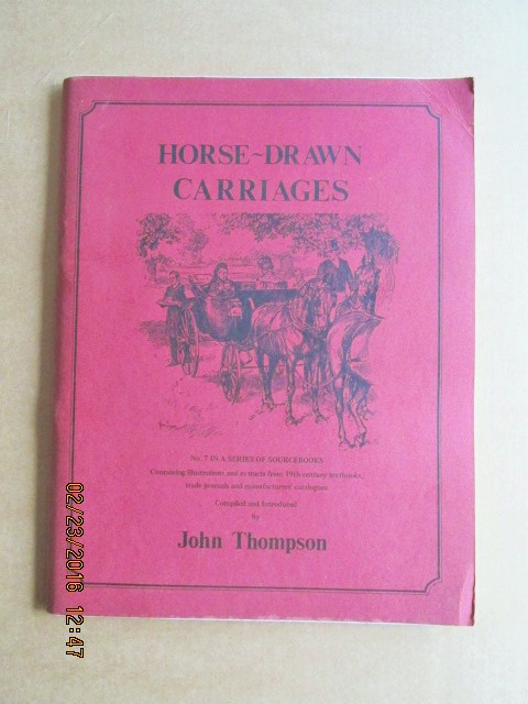 Image for Horse-Drawn Carriages (A Sourcebook, No. 7)