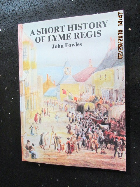 Image for A Short History of Lyme Regis a Fine First Edition