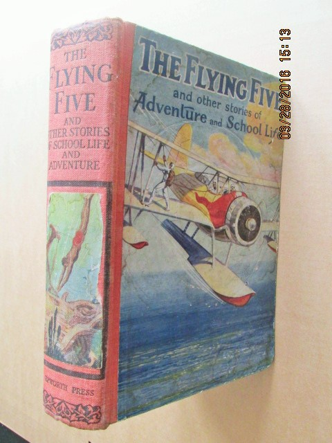 Image for The Flying Five and Other Stories of Adventure and School Life  First Printing 1938