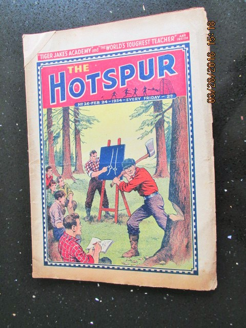 Image for The Hotspur Comic No 26 Feb 24 1934