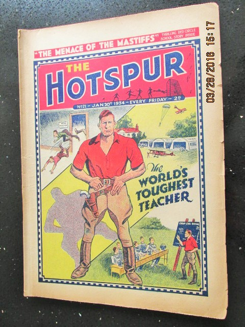 Image for The Hotspur Comic No 21  Jan 20th 1934
