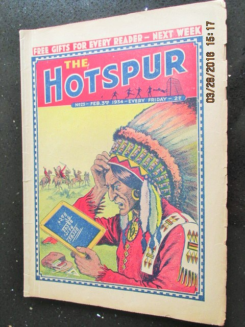 Image for The Hotspur Comic No 23  Feb 3rd  1934