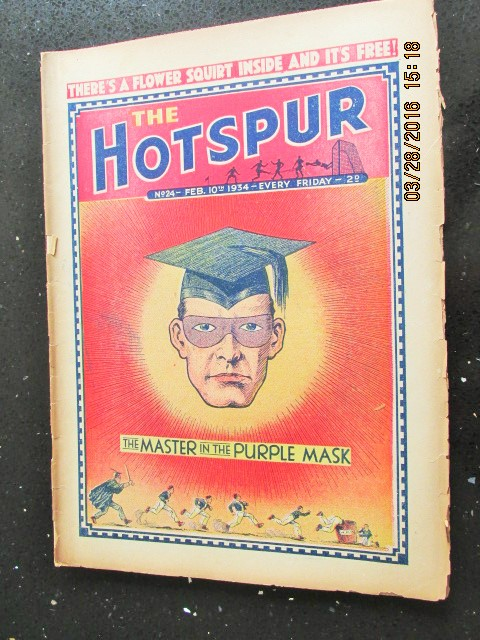 Image for The Hotspur Comic No 24  Feb 10th  1934