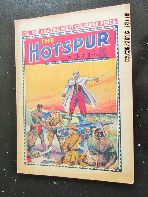 Image for The Hotspur Comic No 25  Feb 17th  1934